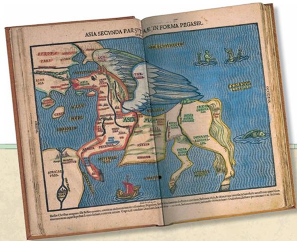 מפה 4 : יבשת אסיה- מפה עתיקה
