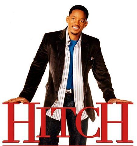 In a romantic comedy, Hitch.