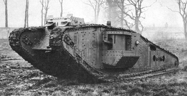 First use of tanks in warfare.
