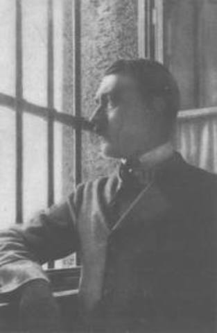 Hitler is arrested and Jailed
