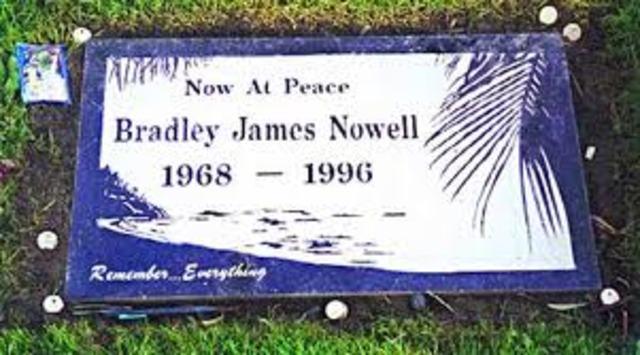 Bradley Nowells death