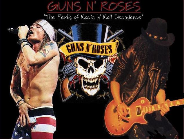 Guns N Roses The Begining