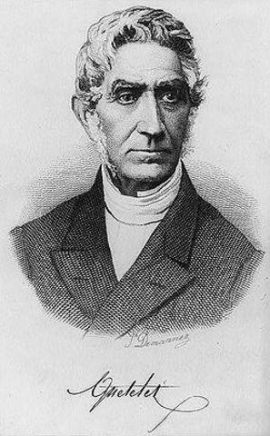 Jacques Quételet Lambert Adolphe J1796-1874
