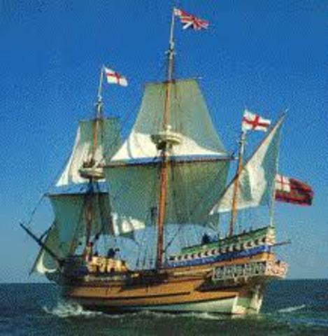 The arrival of the English & Colonization