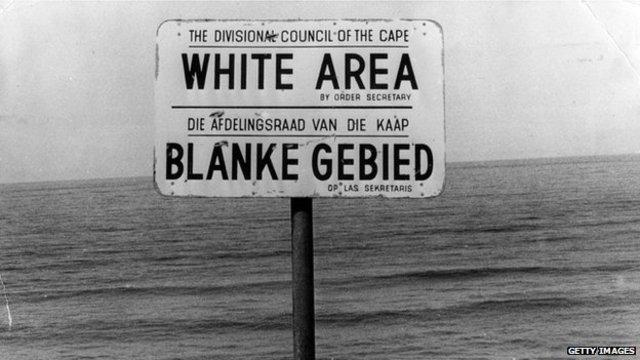 Apartheid begins