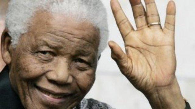 Nelson Mandela released from prison