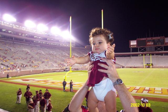 My first FSU Seminole football game
