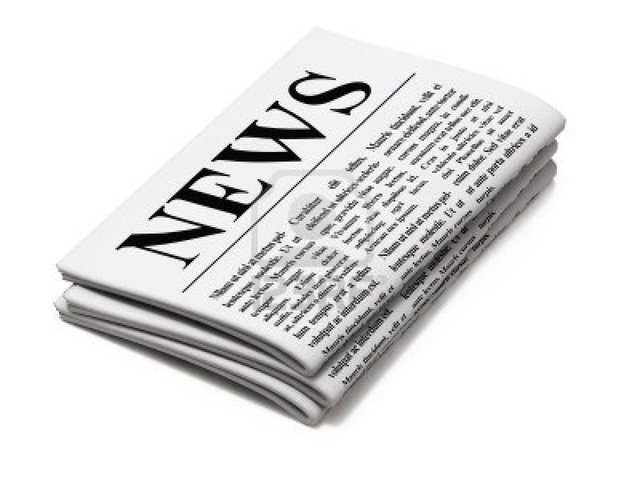 1842: The first newspaper was established