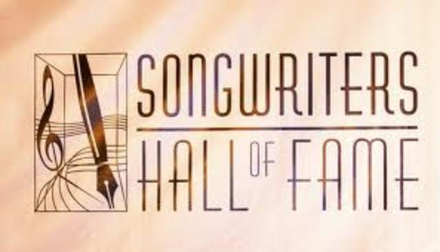 Songwriters hall of fame.