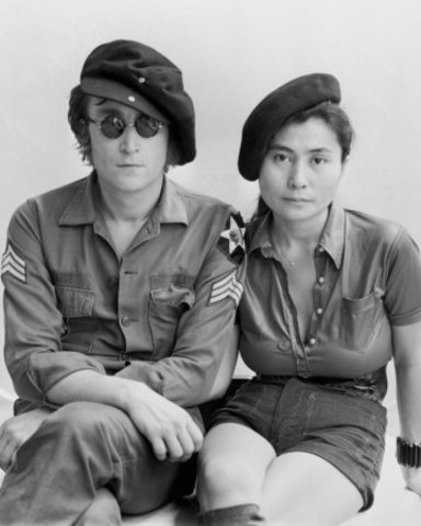 Lennon and Yoko moved to the USA