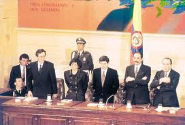 1991 NUEVA CONSTITUCION POLITICA