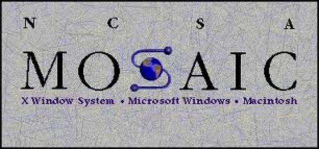MOSAIC programa que permite navegar mas facil por las redes.