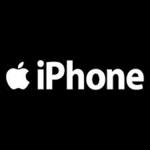 Aparece el iphone con conexion a internet.