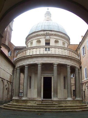Tempietto by Donato D'Angelo Bramante.