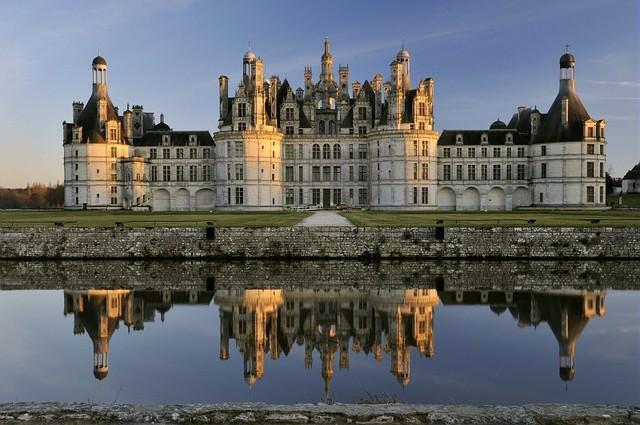 Chateau de Chambord by Giuliano da Sangallo