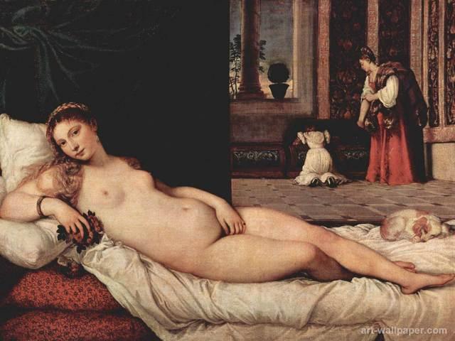 Venus of Urbino by Titian (Titiano Vecelli)