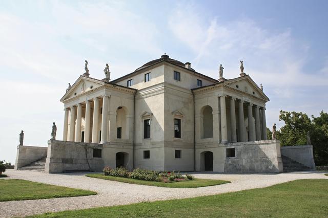 Villa Rotunda (Villa Capra) by Andrea Palladio