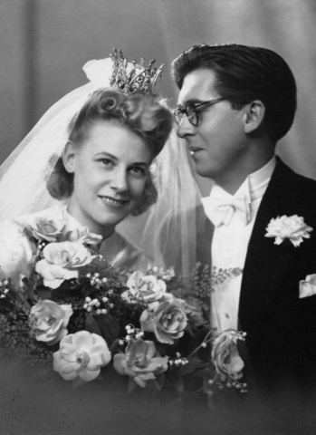 Harald and Constance marry in Stockholm
