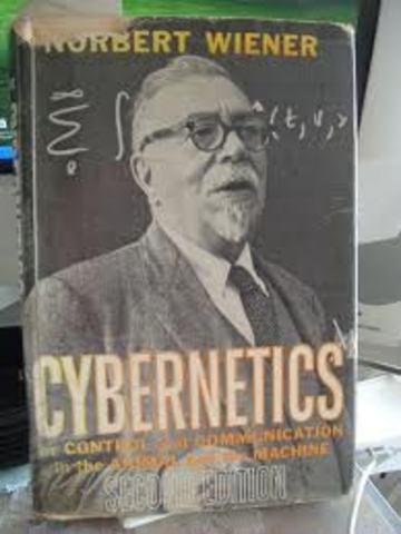 """The word """"cybernetics"""" by Norbert Wiener"""