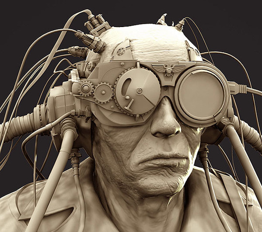 """The word """"cyborg"""" by Manfred Clynes"""