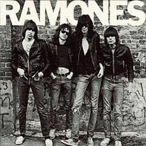 The Ramones release first album; punk begins