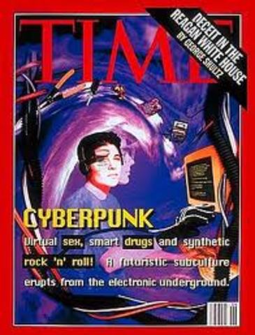 """Time Magazine """"Cyberpunk"""" cover story; real cyberpunks outraged"""