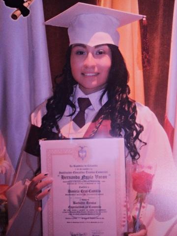 Me Gradue como Bachiller