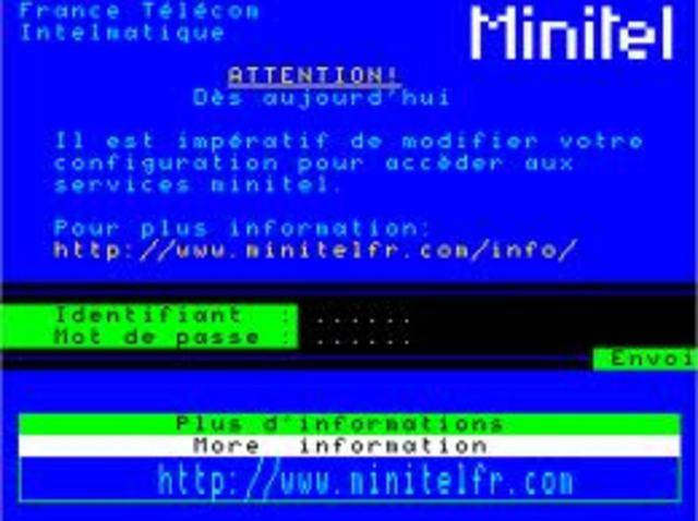 Llega Minitel