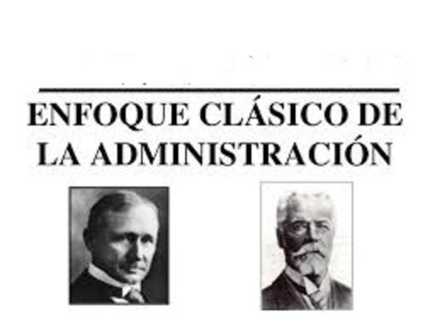 ¿Cómo surge el enfoque clásico de la Administración?