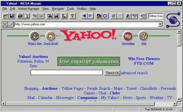 Nace Yahoo!