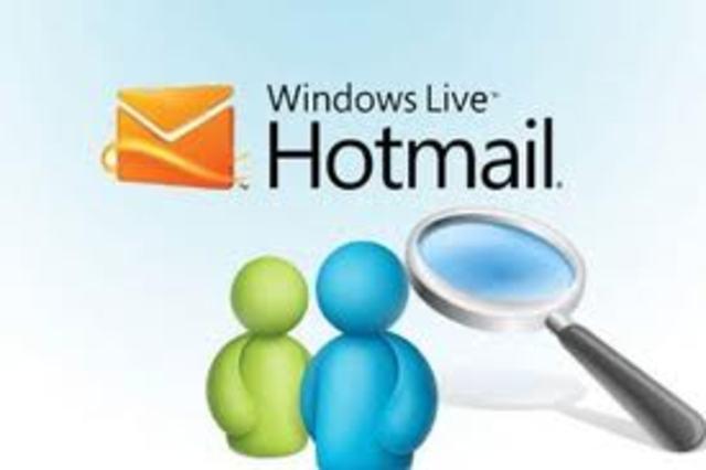 Hotmail Aparece