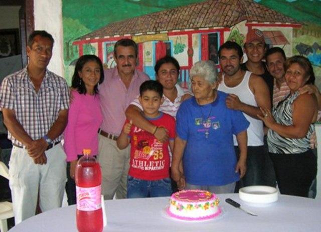 El cumpleaños de la abuela de yovanna