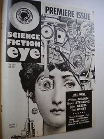 Science fiction eye premiers with all cyberpunk issue