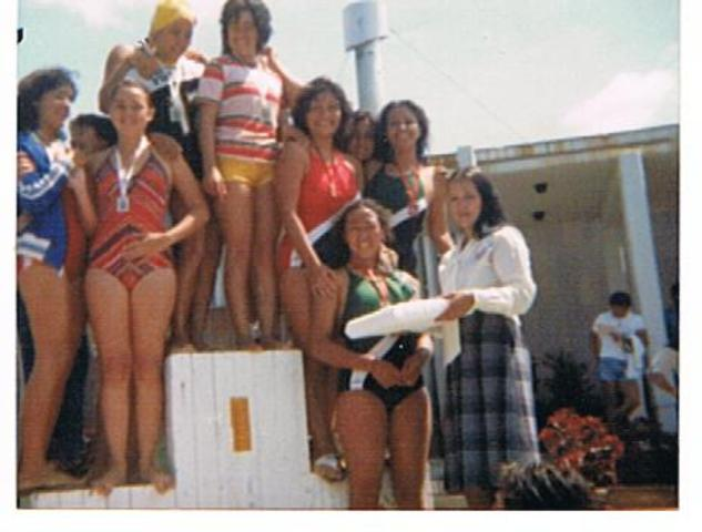 competencia de natación a nivel nacional