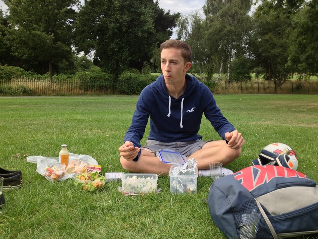 Our first picnic!
