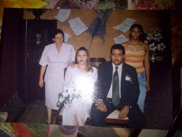 Matrimonio de mi Mama