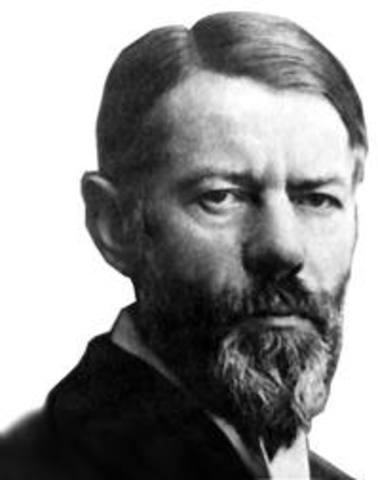Max Weber y La Teoría de la burocracia
