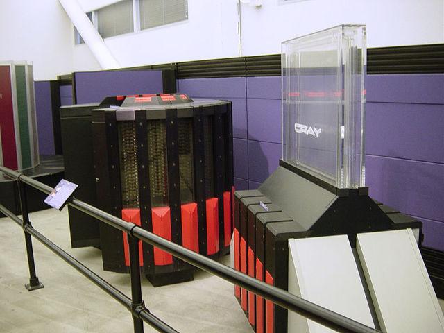 CRAY II Supercomputadoras