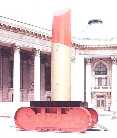 Claes Oldenburg - Giant lipstick