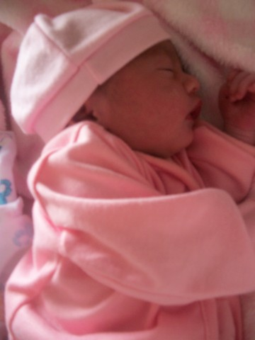 Nacimiento de mi Sobrina Guadalupe