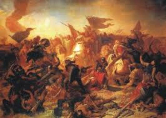 La batalla del río Lechfeld