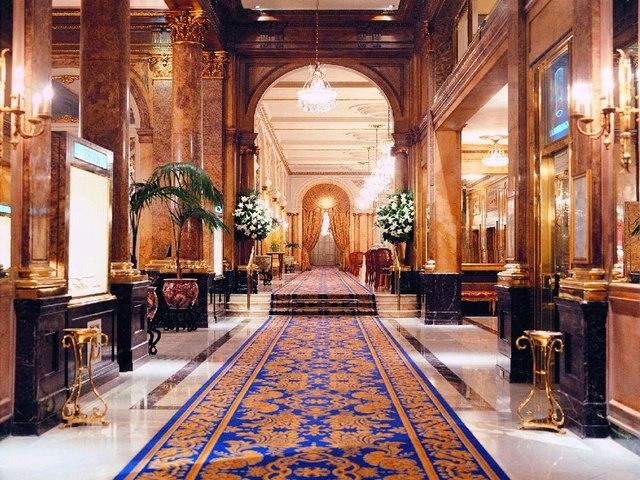 Hotel más Lujoso del Mundo: Palace Hotel.