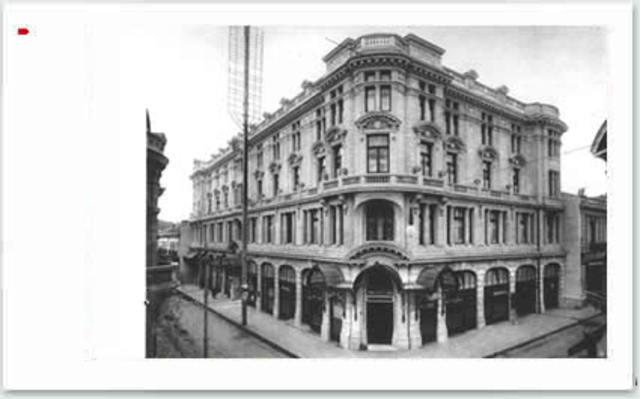 Inicio del Hotel Comercial.