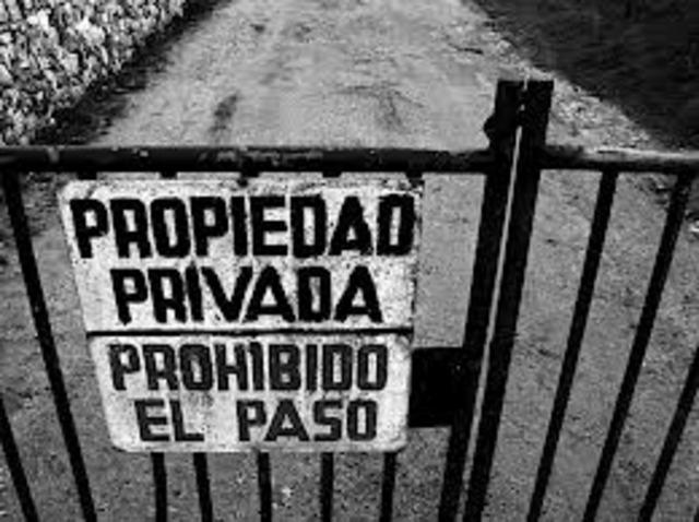 Creación de la propiedad privada