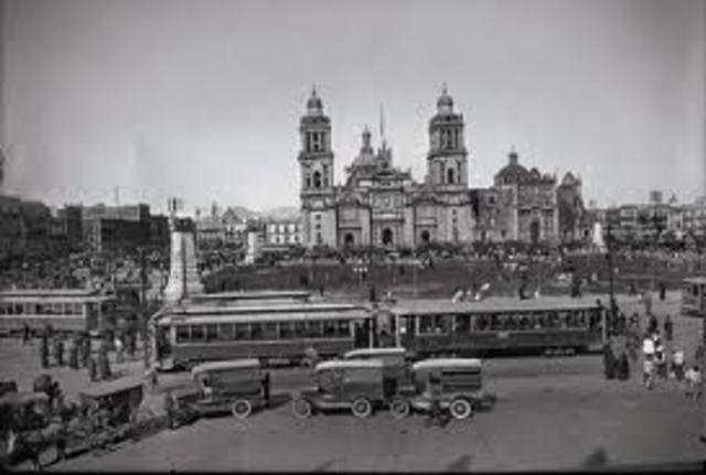 Ciudad de México: Ley de 1904