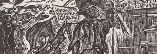 Huelga de Cananea y huelga textil en Puebla