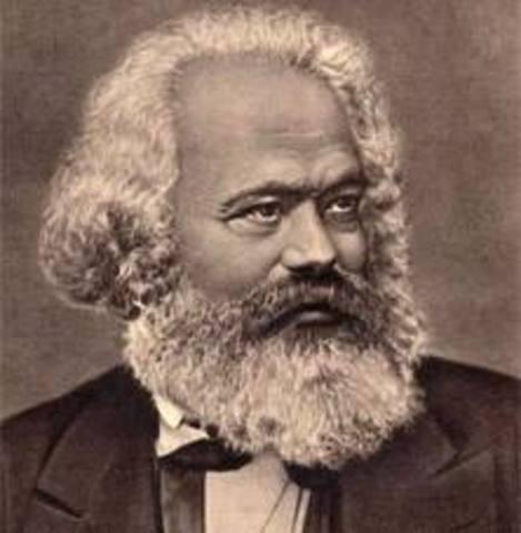Karl Marx y Federico Engels
