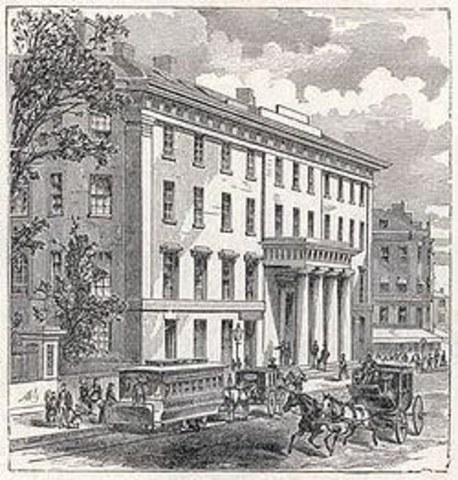 el primer hotel en Boston