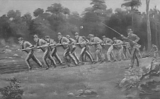 Convicts were seen as a source of labour to advance and develop the British colony