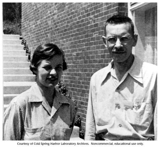 Alfred Day Hershey y Martha Chase